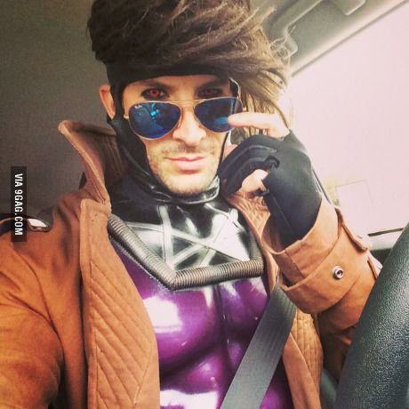 This gent wins for the best Gambit cosplay.