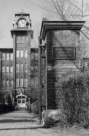 Часовая фабрика Hamilton в Ланкастере (США, штат Пенсильвания)