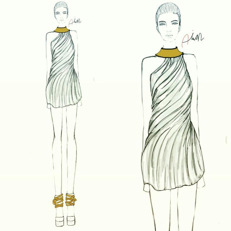 #dress#style#illustration