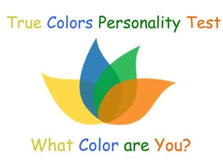 Image result for true colors personality test