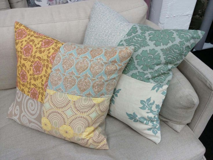Raoul Linen Patchwork Cushions
