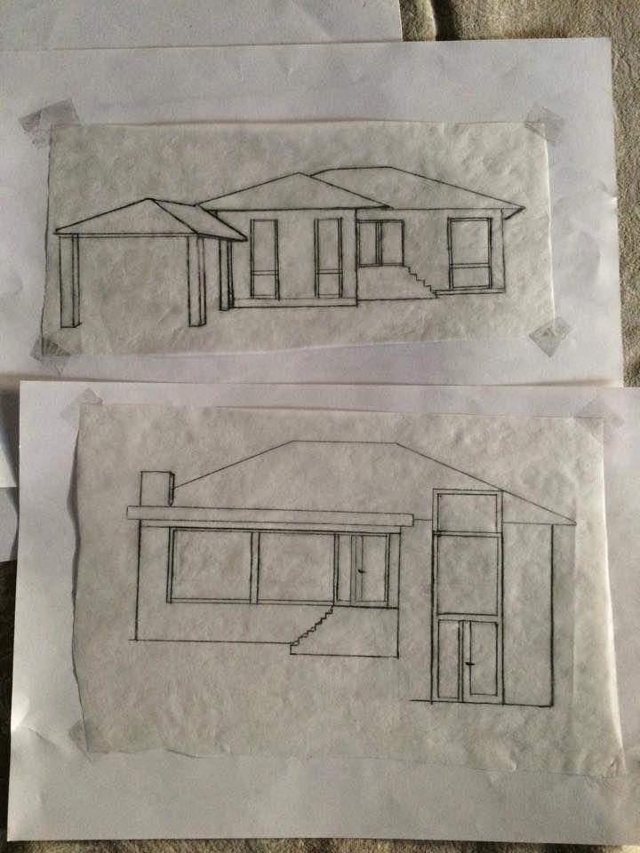 skitser til ombygning