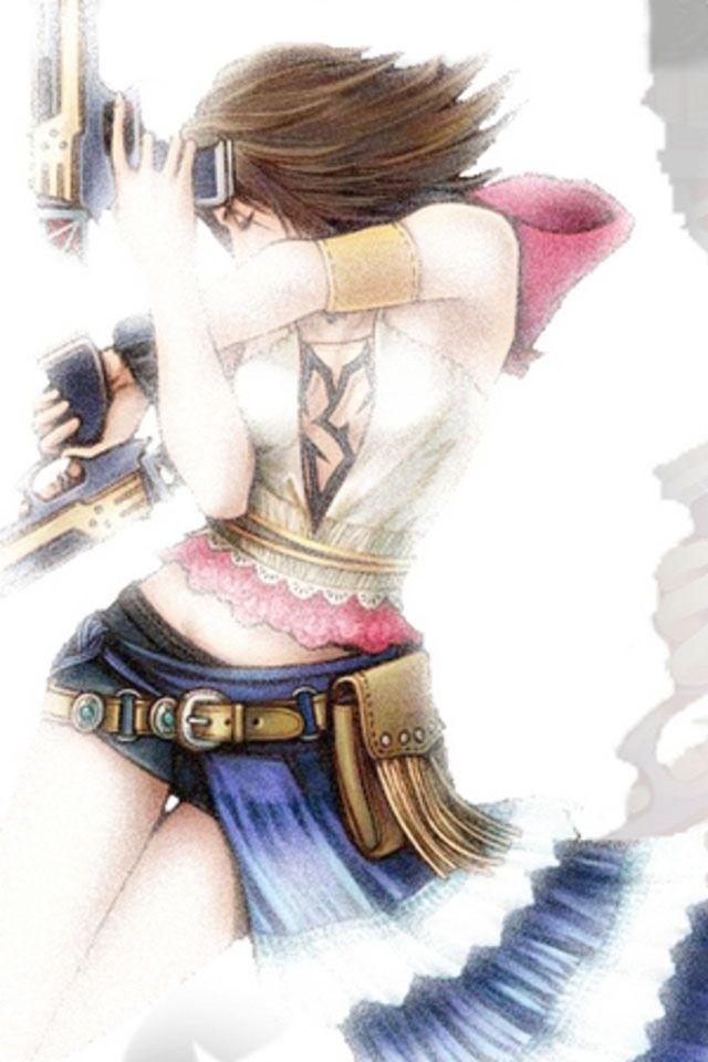 Final Fantasy... Forgot her name... Crap....