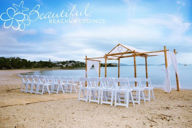 Our Blonde Bamboo Wedding Chapel released in December 2011 as part of our 2012 Luxury Wedding Collection. This photograph is taken in Airlie Beach, Queensland.