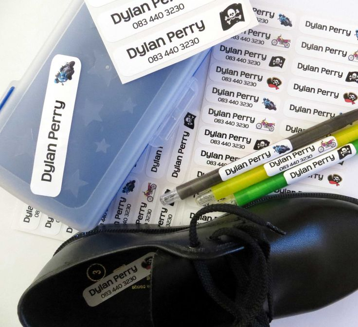 Stuck 2 U Labels  offer Durable Vinyl Name Stickers and Easy 2 Apply Iron on Name Labels to mark your children's belongings for school. https://parentinghub.co.za/directory/listing/stuck-2-u-labels