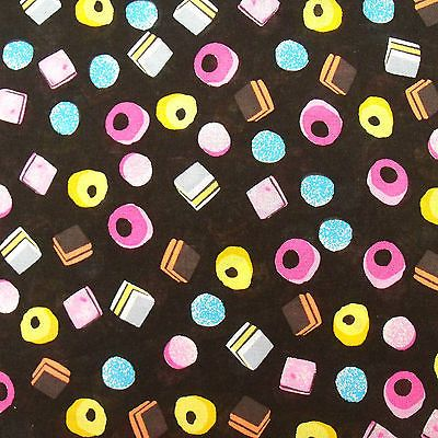 Liquorice All Sorts An iconic print with Bertie Bassets famous sweets set against a black background This is a really nostalgic print with the sweets