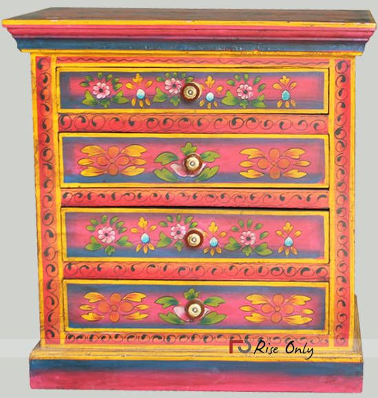 Wholesale indian painted furniture jodhpur india. http//www.riseonly