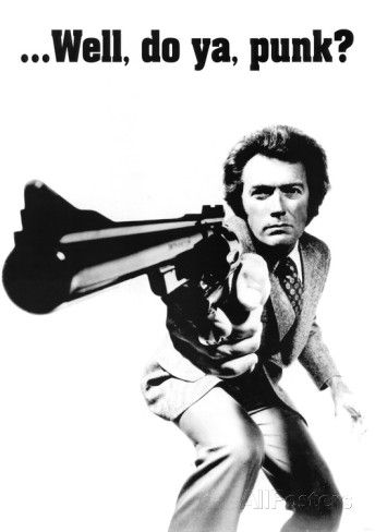 Clint Eastwood (Dirty Harry) Movie Poster Print - AllPosters.co.uk