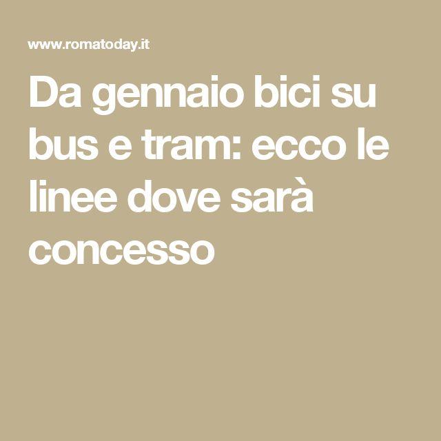 Da gennaio bici su bus e tram: ecco le linee dove sarà concesso