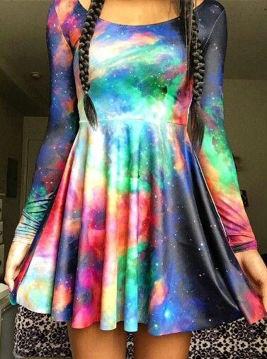Black Milk Clothing Galaxy Dress @hellokittyxtc