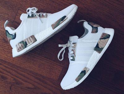 "EffortlesslyFly.com - Kicks x Clothes x Photos x FLY SH*T!: Custom Kicks: adidas NMD ""White Camo""*~"