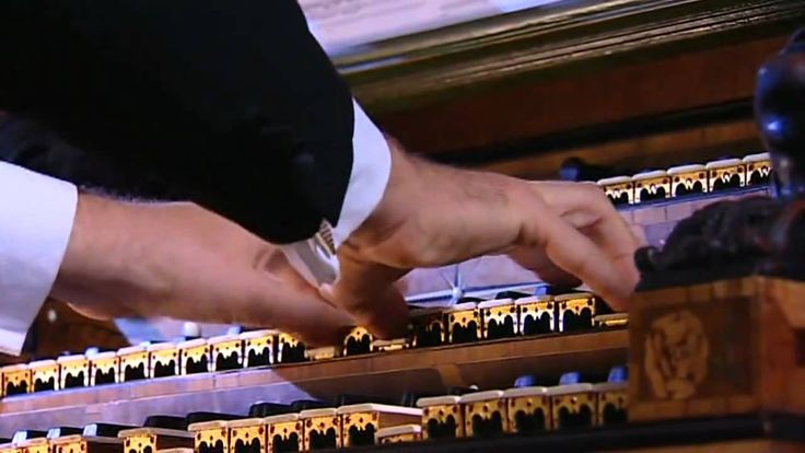 Bach's Tocatta and Fugue. Still gives me goosebumps every time.