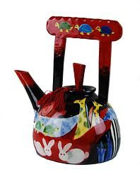'Zoo' Handpainted Teapot by Studio Australia