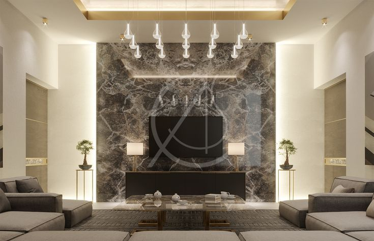 Interior Design Of Luxury Modern Residence With Images Lounge