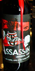 Assassin Imperial Stout - Toppling Goliath Brewing Company  As of 6/20/2013, this is the 2nd best barrel aged stout I've ever had!