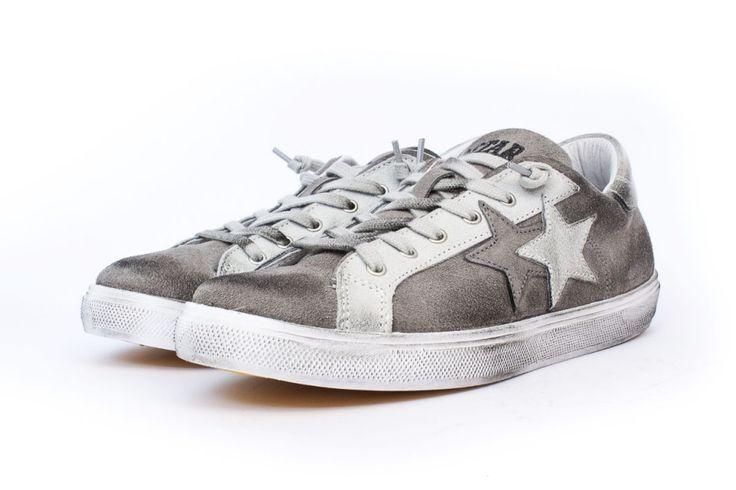 2STAR scarpe basse grigie immagini