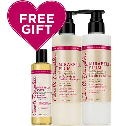 Natural Hair Care, Natural Beauty Products, Natural Skincare - Carol's Daughter - Mirabelle Plum Valentine's Day Set