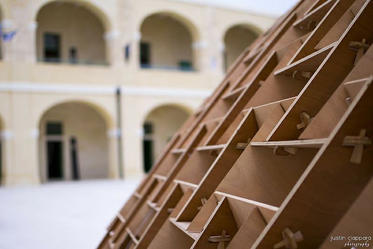 Wood Architecture at Malta Design Week, Fort St.Elmo Valletta
