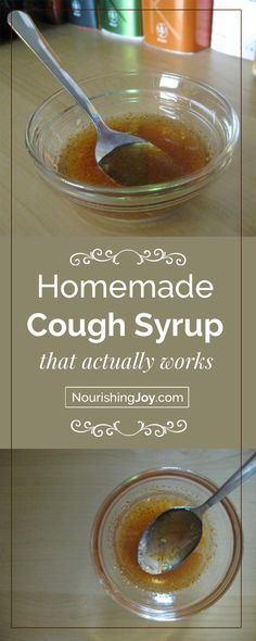 Some people love this homemade cough syrup, some people hate it, but either way, it seriously works. And considering it let me sleep last night when I had a bad, hacking cough, that was enough for me. :) Well, that and the fact that I had all the ingredients already in my kitchen and it's all natural!