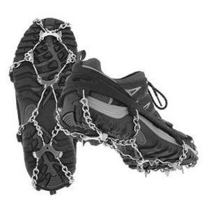 Micro Spikes Pocket Traction System (Black, Medium) by Micro Spikes. $59.90. Kahtoola's MICROspikes are a pocket-sized traction system that allow anyone, of any age, to get out and safely enjoy winter. These slip-on spikes dig into all types of terrain — ice, packed snow, wet rocks, concrete, and scree. Extremely durable, they attach securely to your footwear and require no special buckles or straps.