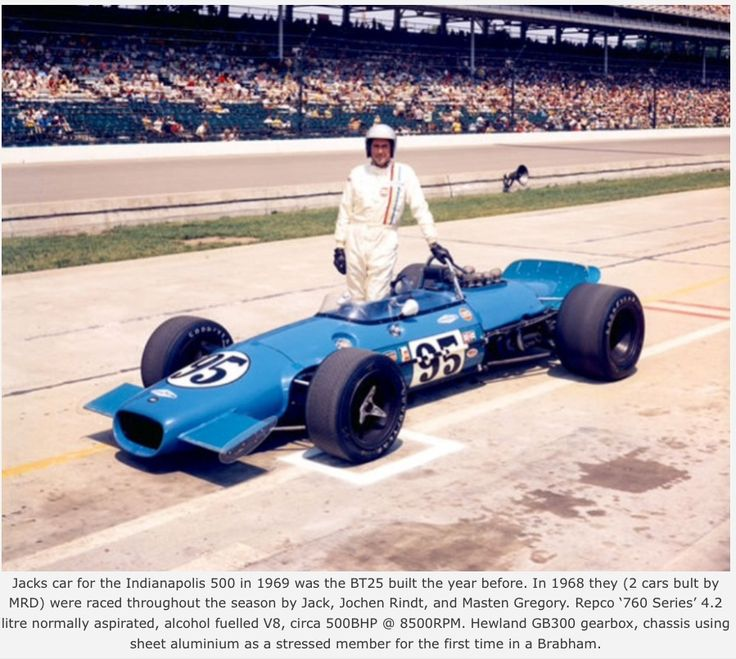 Jack Brabham Indianapolis Brabham Repco Primotipo