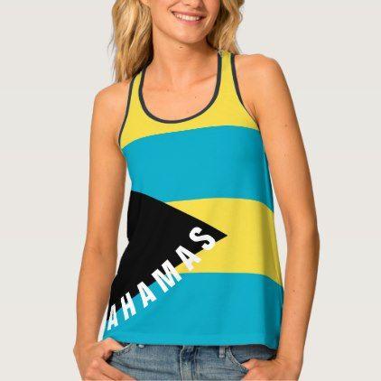 Bahamas Flag Tank Top