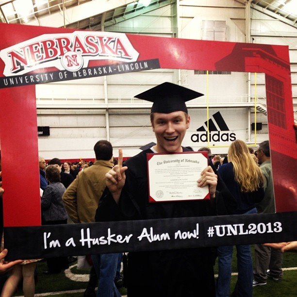 10) Transition phase: Matthew graduates from college!