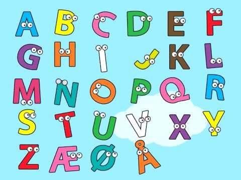 Den seje alfabetsang - YouTube