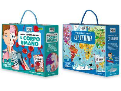 Viaggia, Conosci, Esplora: i Libri Puzzle di Sassi Junior. | Famideal.it