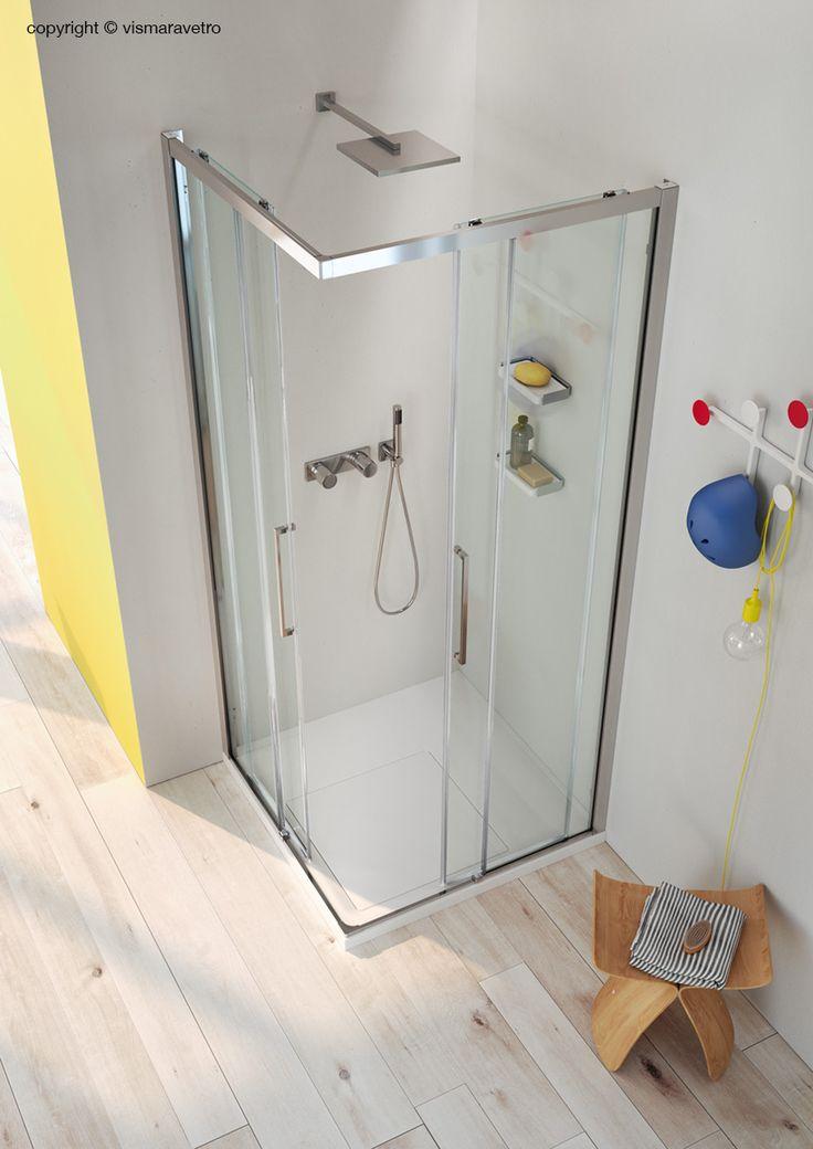 Serie 7000 è una collezione di cabine doccia scorrevoli che rappresenta l'essenza dell'esperienza maturata in anni di progettazione e produzione di cabine doccia.#bathroom #bathroomdesign #bath #showerthis #bathtub #showerenclosure #boxdoccia #cabinadoccia