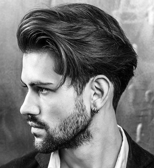 Alpha-male-Haircut Medium Length Hairstyles For Guys & Haircut Ideas (Trends & Tips)  http://bestmenshairstyle.com/  #hairstyle #haircut #medium #men #mens #hairstyles #ideas