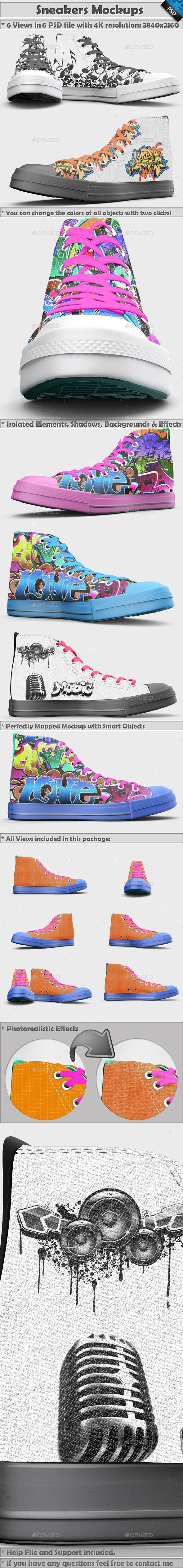 Download Sneakers Shoes Mockup