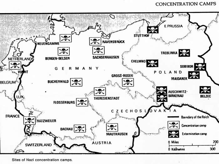 Concentration Camps Map | history | Pinterest | War, Camps ...