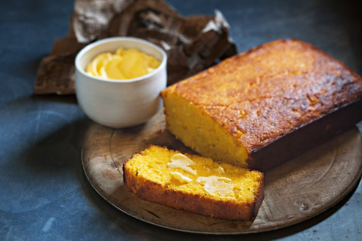 With a crunchy crust and soft centre, this cheese and chive cornbread is perfect for mopping up stews.