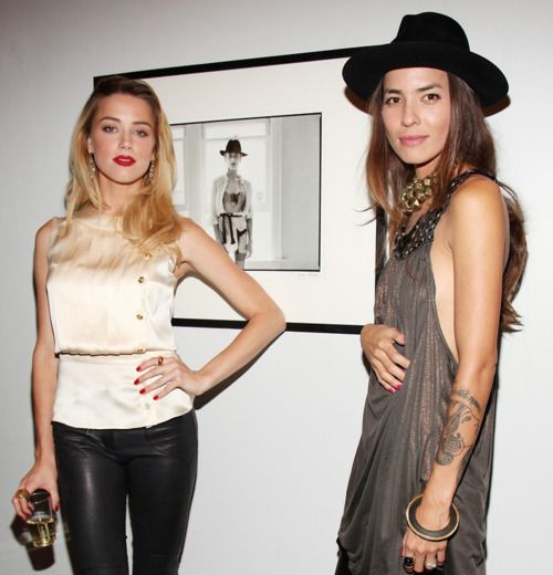 everything about Tasya van Ree & Amber Heard. They dated for 4 years.  Why, oh, why, did Amber marry Johnny Depp?