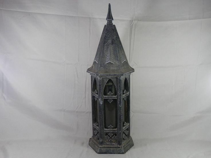 Vintage Gothic Wall Sconce Indoor Outdoor Light Fixture Porch Light LARGE Thomas Industries by WesternKyRustic on Etsy