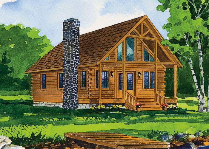 Blackfork floor plan log cabin ideas pinterest black for Amish floor plans