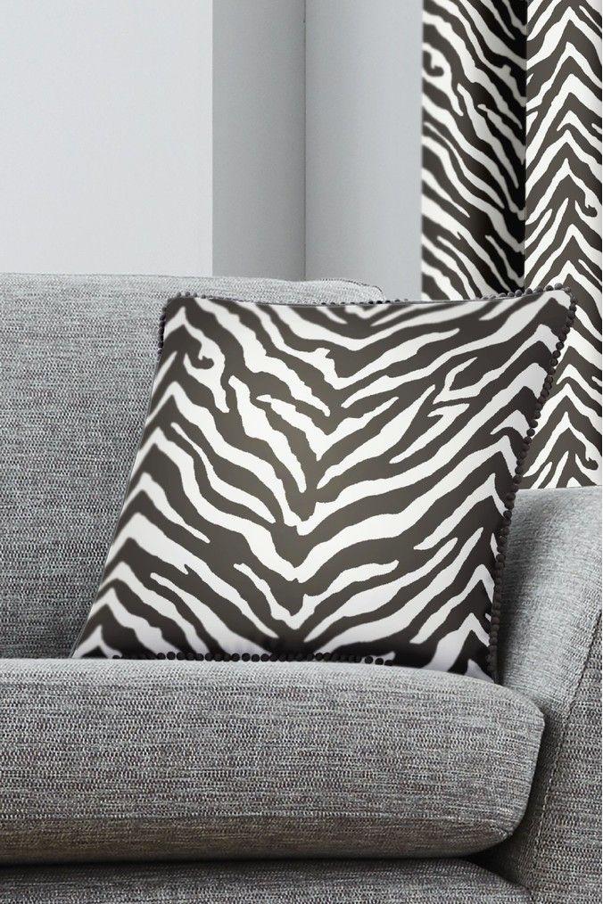 Fusion Zebra Cushion Black Zebra decor, Cushions