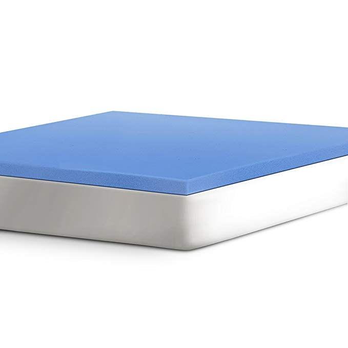 Serta 2 Support Gel Infused Memory Foam Mattress Topper Twin Xl Review Memory Foam Mattress Topper Foam