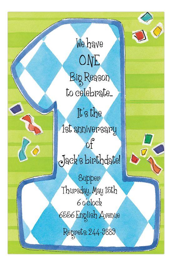 Best St Birthday Invitations Images On Pinterest St - Send birthday invitation by email