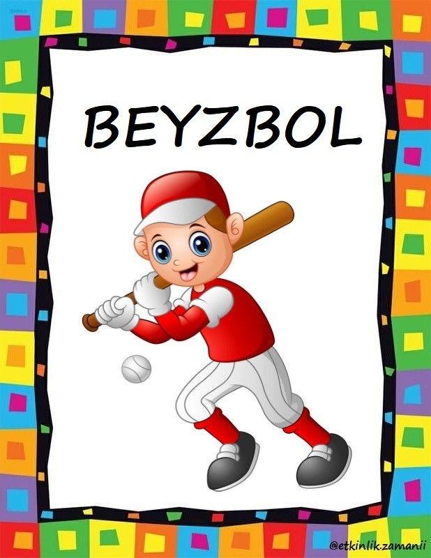 Beyzbol Sporu Okul Oncesi 2020 Beyzbol Anaokulu Matematigi Spor