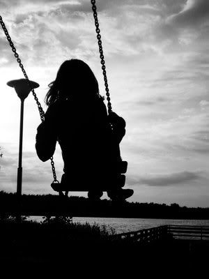 Imagine.: Playground, White Photography, Childhood Memories, Black And White, Silhouette, Swings Low, Black White, Graphics, Kids
