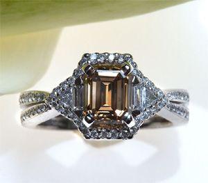 Things Festive Weddings & Events: Yummy Chocolate Diamond Engagement Rings