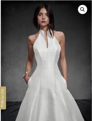 acadd2021f Vestido de novia a estrenar de segunda mano por 300 € en Málaga en WALLAPOP