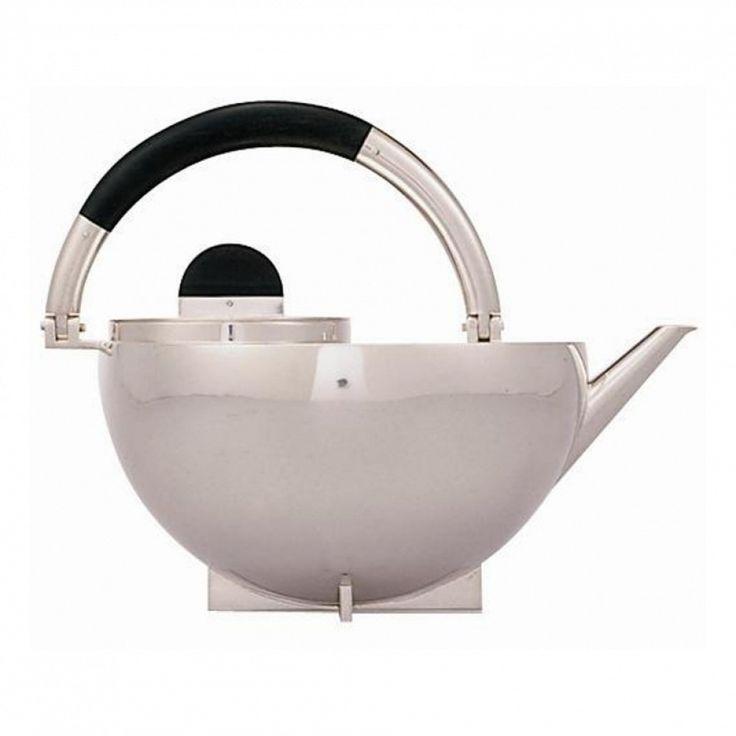 MARIANNE BRANDT. Bauhaus Teapot. 1924