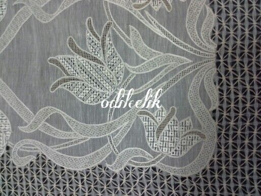 Ajour embroidery