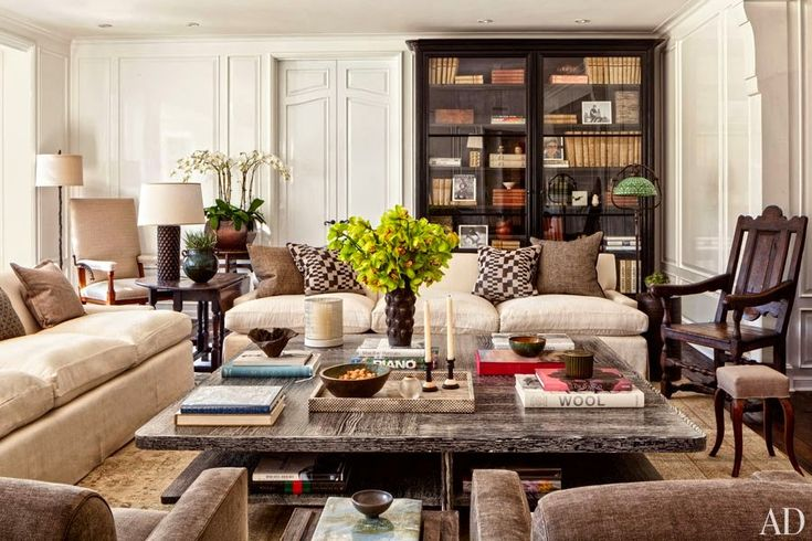 British Colonial/Global traditional style with more practical sand toned upholstery