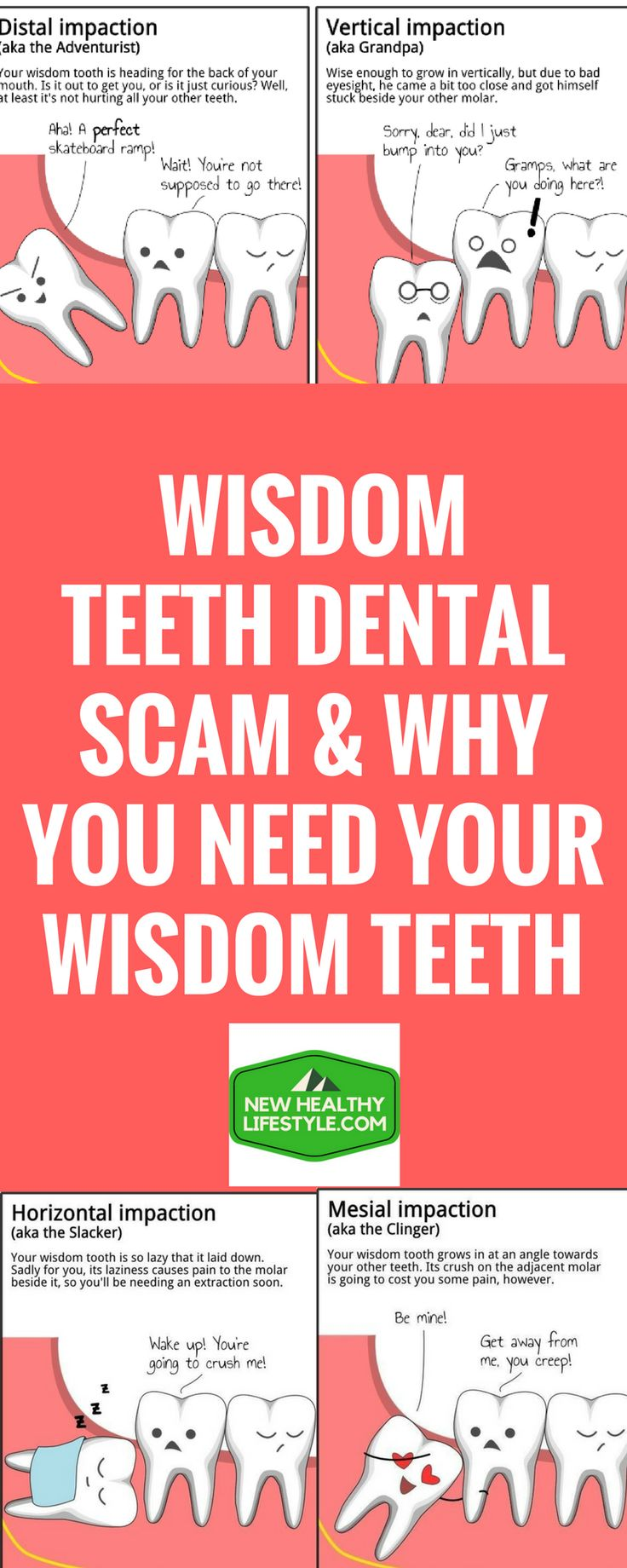 WISDOM TEETH DENTAL SCAM & WHY YOU NEED YOUR WISDOM TEETH `44`