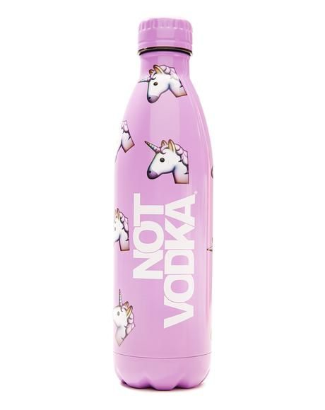 Unicorn Emoji Water Bottle