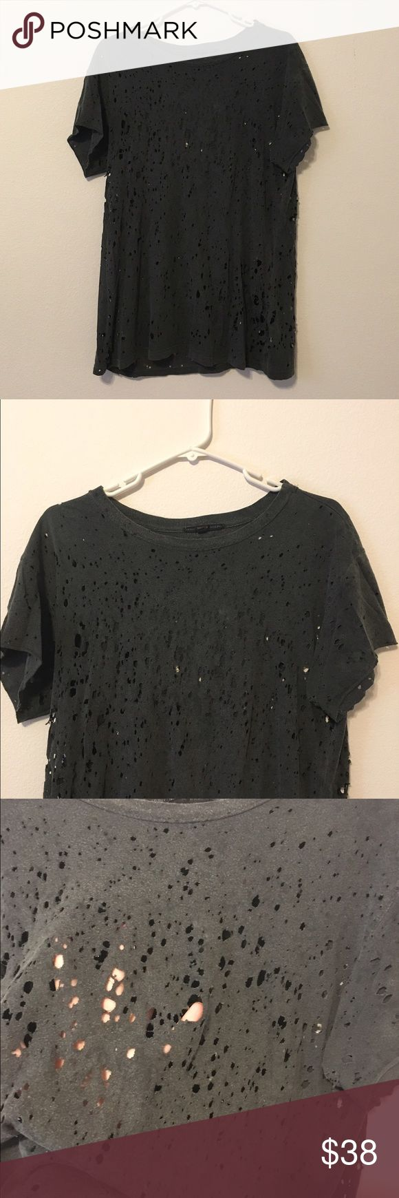 Holy shirt Perfect for those with edgy/grunge sexy hardcore style. This shirt is amazing. Tops